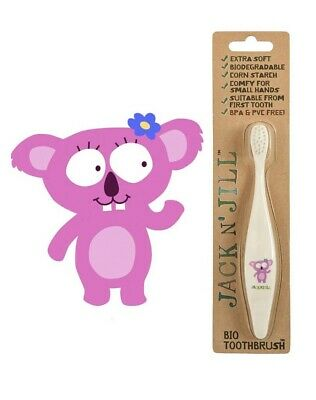 Jack n Jill Bio Toothbrush BPA PVC Free Biodegradable First Tooth Kids Babies
