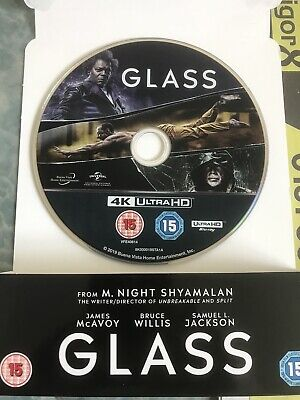 Glass 4K Ultra HD DISC ONLY