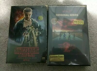 Stranger Things-Season 1 and Season 2 Collector Edition(Blu-ray+DVD+Poster)New
