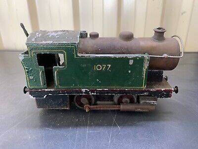 Old Vintage Scorpion Steam Train Tin Toy Collectable Locomotive