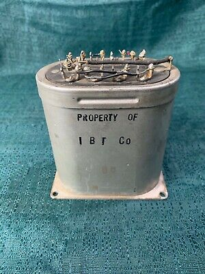 vintage Western Electric repeating coil REP 111C transformer 111 C radio station