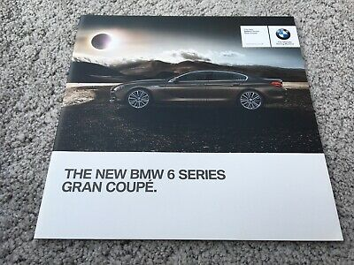 BMW 6 Series Gran Coupe Launch Brochure 2012 UK Issue