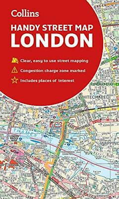 Collins London Handy Street Map by Collins Maps New Sheet map  folded Book