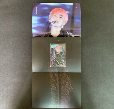 BTS-Love Your Self World Tour In Seoul DVD TAEHYUNG PHOTO CARD+POSTER