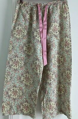 Peter Alexander Ladies Vintage Floral Pattern PJ Pants. Great Condition Small