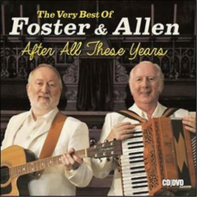 Foster & Allen The Very Best of After All These Years CD & DVD All Regions NEW