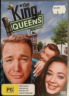 The King of Queens : Season 3 (DVD, 2008, 4-Disc Set)  BRAND NEW & SEALED