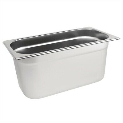 Bain Marie Tray / Steam Pan / Gastronorm 1/3 Size 150mm Deep Stainless Steel