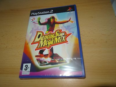 Dancing Stage MegaMix Sony PlayStation 2 ps2 NEW SEALED PAL