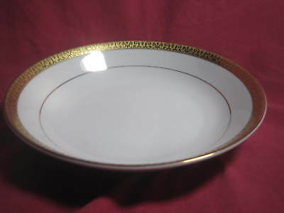 "Royal Gallery Gold Buffet Gold Rim 1991 Serving Bowls - 9"" x 2"" NEW!!!"