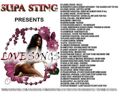 Supa Sting Presents Love Songs Mix CD