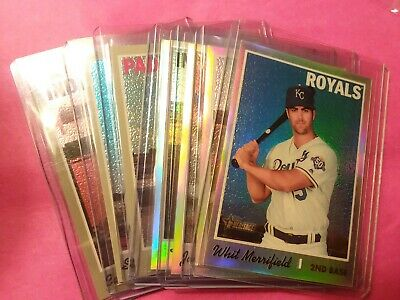 2019 Topps Heritage Chrome Refractor /570 - /999 **You Pick Your Card Or Cards**