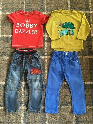 Baby Boys Next Clothes Outfit Bundle 1.5-2 Years 18-24 Months