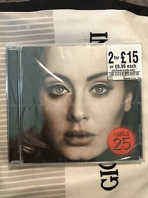 Adele Cd 25 New And Sealed