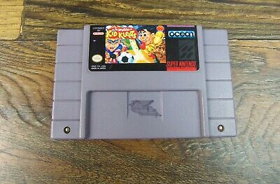 The Adventures of Kid Kleets Game Cartridge for Super Nintendo SNES Rare Tested