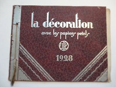 Upl 1928 Papier Peint Wonderfull Old Catalog Wallpaper Tapete Alt Katalogus