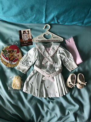 American Girl Doll Samantha's Retired Spring Party Dress Outfit