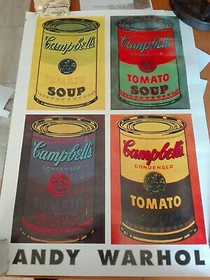 Andy warhol Poster Tomato Soup Campbells