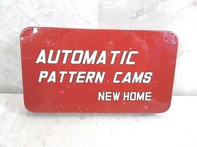 Vintage New Home Automatic Pattern Cams Japan Set of 15