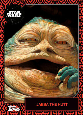 Topps Star Wars Card Trader 2019 Base Darth Maul Variant Jabba The Hutt 99cc