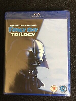 The Family Guy Trilogy - Laugh It Up, Fuzzball [2007] (Blu-Ray) Star Wars New