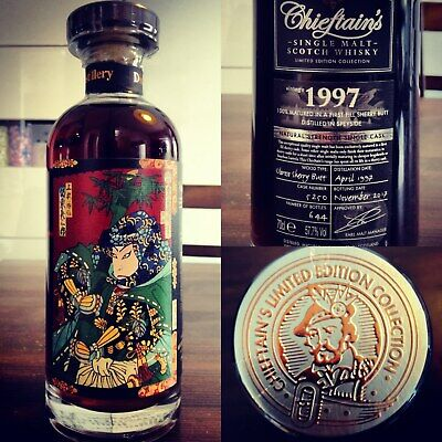 Mortlach 1997 Chieftain's Speyside limited edition rare whisky whiskey