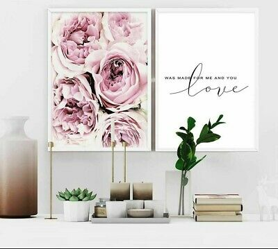 Modern Wall Canvas Posters Living Room Art Decor Paintings Unframed Modern Print