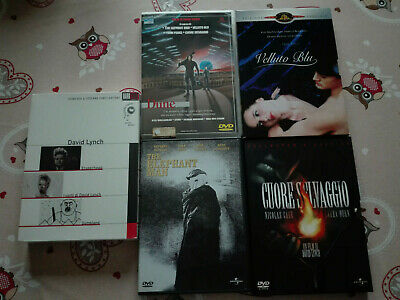 dvd - Twin Peaks e... lotto david lynch 12 pezzi