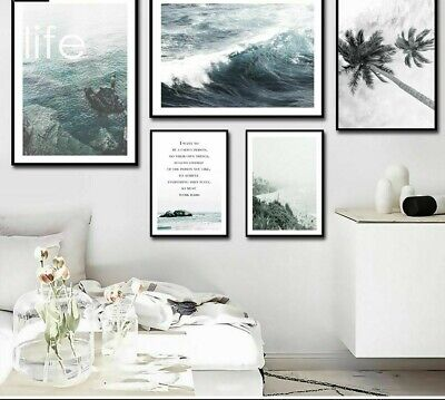 Nature Posters Wall Art Canvas Printing Home Living Room Decorative Paint Nordic