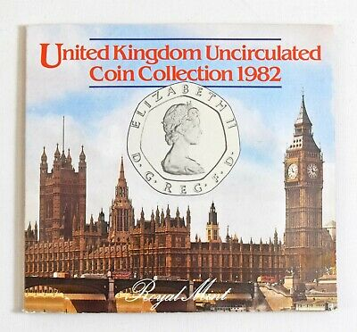 Royal Mint 1982 United Kingdom Brilliant Uncirculated Coin Collection