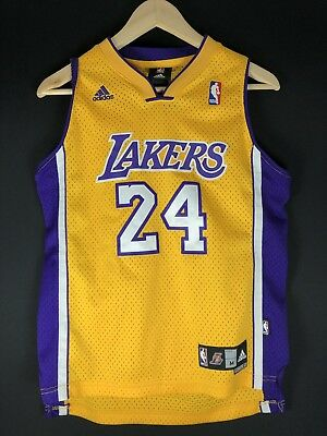 Authentic Adidas KOBE Kids LAKERS Jersey NBA Basketball Trikot Jersey Jordan M