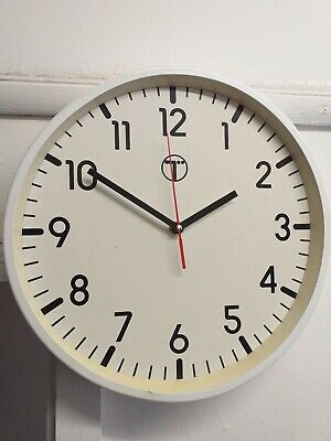Vintage Retro British Telecom  Wall Clock In Good Working Order