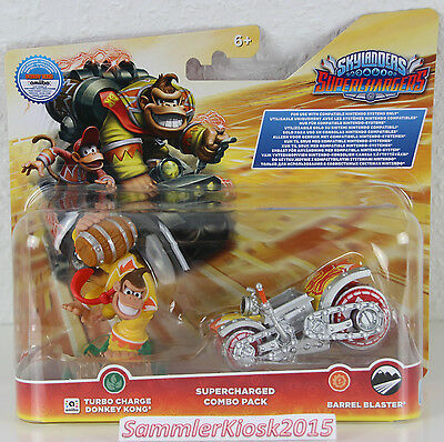 Turbo Charge Donkey Kong & Barrel Blaster - Skylanders SuperChargers Combo Pack
