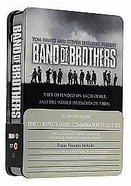 'Band of Brothers' Complete HBO Series' Steel Tin DVD New Sealed