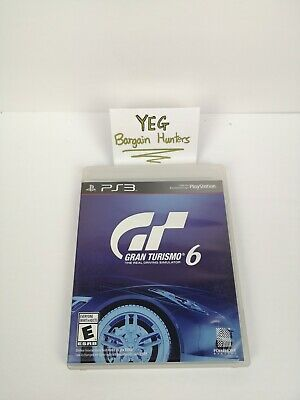 Gran Turismo 6 (Sony PlayStation 3, 2013) Game/Case/Insert Tested Canadian Selle