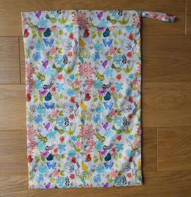 Extra Large Wet Bag - Cream Bloom - SECONDS
