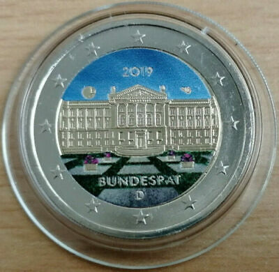 2 Euros Alemania 2019 Bundesrat en color 2