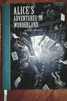 Alice In Wonderland By Lewis Carroll, 2005 Hard Cover Dust Jacket