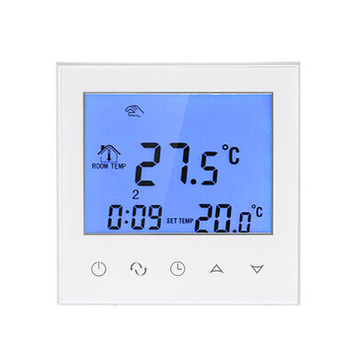 Electric Heating Thermostat with Touchscreen Smart WIFI Programmable Y9F1