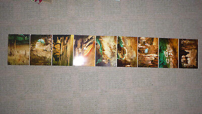Very Rare Unused Colour Postcards Of Mallorca Caves Spain From 1969