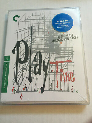 PlayTime (Blu-ray Disc, 2009, Criterion Collection) Brand New