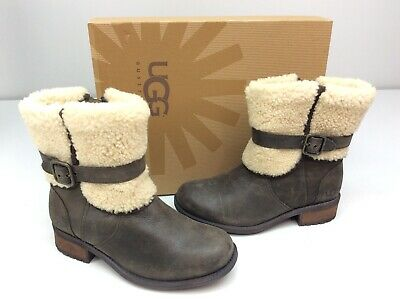 6f5df8c8bbe UGG BLAYRE II Winter Ankle Boots - Women's Size 8 - Black - $100.00 ...