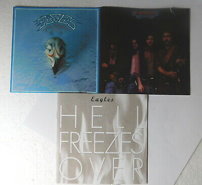 CD LOT - The EAGLES     Desperado   HELL FREEZES OVER   Their Greatest Hits