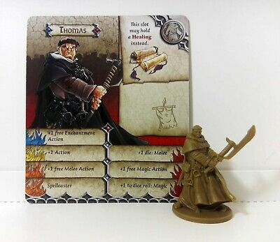 THOMAS (Fray Tuck) Zombicide Black Plague / Zombicide Green Horde