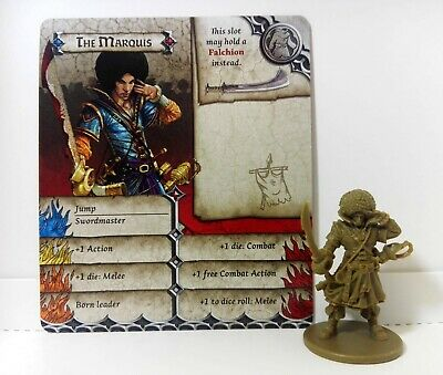 THE MARQUIS (Prince) - Zombicide Black Plague / Zombicide Green Horde