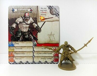 SPEARHEAD (Eddie - Mad Max) Zombicide Black Plague / Zombicide Green Horde