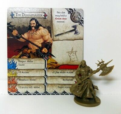 THE DEATHMASTER (Motorhead) - Zombicide Black Plague / Zombicide Green Horde -