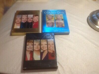 The Golden Girls complete first Second And Seventh season DVD  3 disc set