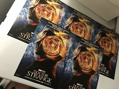 Dr Strange IMAX Movie Promo Posters Lot Of 15-MCU Promo-AMC-Marvel-Comic Nerd!
