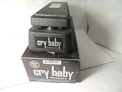 Dunlop GCB95F Crybaby Classic Fasel Wah Effects Pedal Free USA Shipping